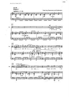 Hamlet: Vocal score - part 2 by Nancy Van de Vate