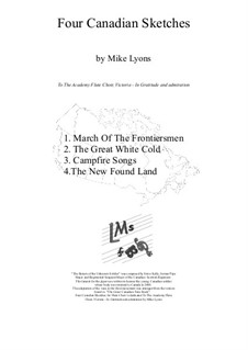 Four Canadian Sketches: Four Canadian Sketches by Mike Lyons