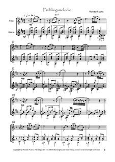 Springtime Melody: Springtime Melody by Ronald Fuchs