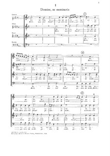Three Motets: Three Motets by Jacobus Clemens non Papa