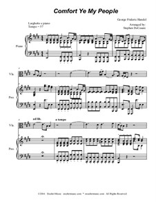 Fragments: Part 1, for string ensemble (with accompaniment tracks) by Georg Friedrich Händel