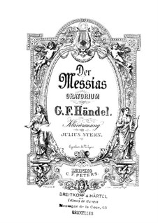 Complete Oratorio: Piano-vocal score by Georg Friedrich Händel