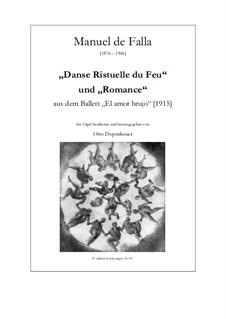 Danse Ristuelle du Feu und Romance: Danse Ristuelle du Feu und Romance by Manuel de Falla