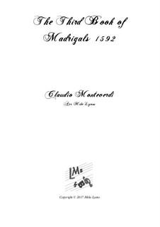Book 3 (a cinque voci), SV 60–74: Arrangement for quintet instruments by Claudio Monteverdi