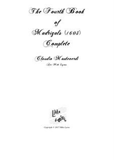 Book 4 (a cinque voci), SV 75–93: Arrangement for quintet instruments by Claudio Monteverdi