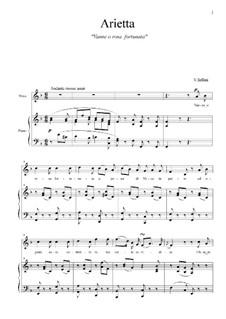 Vanne, o rose Fortunata: F Major by Vincenzo Bellini