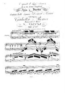 Giulietta e Romeo. Aria and Duet: Giulietta e Romeo. Aria and Duet by Nicola Vaccai
