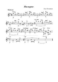 Пасмурно, Op.10а: Пасмурно by Oleg Kopenkov