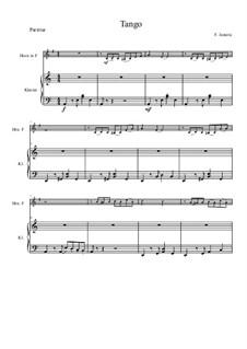 Tango für Horn und Klavier: Tango für Horn und Klavier by Florian Janezic