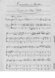 Concertino for Oboe and Piano: Concertino for Oboe and Piano by Napoléon Coste
