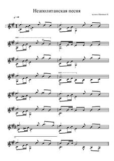 Неаполитанская песня: Неаполитанская песня by Konstantin Schenitsyn
