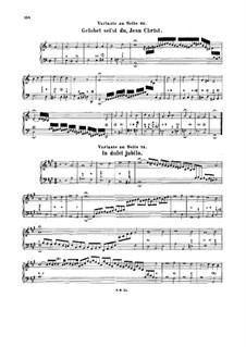 Chorale Preludes (Alternative Versions and Fragments): Chorale Preludes (Alternative Versions and Fragments) by Johann Sebastian Bach
