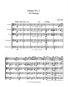 Adagio No.2 for Strings: Adagio No.2 for Strings by Jordan Grigg