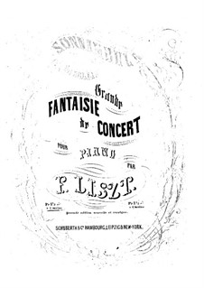 Fantasia on Themes from 'La Sonnambula' by Bellini, S.393: Version II by Franz Liszt