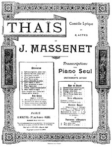 Meditation: For cello and piano by Jules Massenet