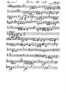 Complete Movements: Clarino II part by Wolfgang Amadeus Mozart