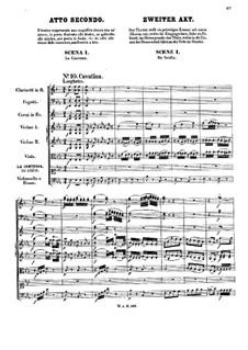 Complete Opera: Act II by Wolfgang Amadeus Mozart