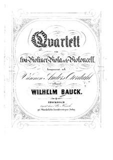 String Quartet in G Major: Violin I part by Wilhelm Bauck