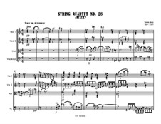 String Quartet No.28 (Mystic): String Quartet No.28 (Mystic) by Jordan Grigg