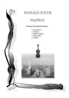 Mystica: No.3 Valzer burlesco by Ronald Fuchs