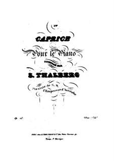 Caprice No.1 in E Minor, Op.15: Caprice No.1 in E Minor by Sigismond Thalberg