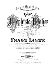 Waltz No.2 in E Flat Major, for Piano, S.515: Waltz No.2 in E Flat Major, for Piano by Franz Liszt