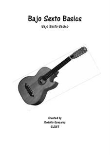 Bajo Sexto Basics/Bajo Sexto Basico: Bajo Sexto Basics/Bajo Sexto Basico by Rodolfo Gonzalez