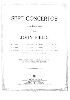 Concerto for Piano and Orchestra No.2 in A Flat Major, H.31: Concerto for Piano and Orchestra No.2 in A Flat Major by John Field
