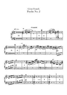 Psyché, M.47: Harps parts by César Franck
