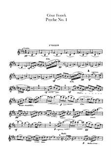 Psyché, M.47: Violins parts by César Franck