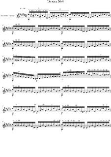 Этюд No.4: Этюд No.4 by Yevgeny Katranzhi