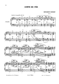 Conte de fée, Op.62: Conte de fée by Benjamin Godard
