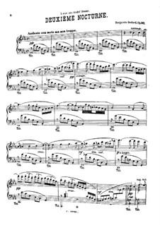 Nocturne No.2 in E Flat Major, Op.90: Nocturne No.2 in E Flat Major by Benjamin Godard