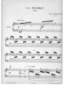 La source (The Wellspring), Op.44: La source (The Wellspring) by Alphonse Hasselmans