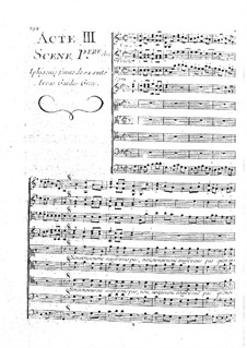 Iphigenia in Aulis, Wq.40: Act III by Christoph Willibald Gluck