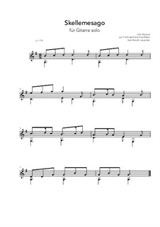Skellemesago: G-Major by John Playford