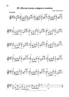 Песня очень старого ковбоя, Op.10-a: Песня очень старого ковбоя by Oleg Kopenkov