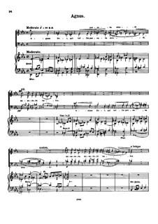 Stella maris, Op.141: Agnus Dei by Peter Griesbacher