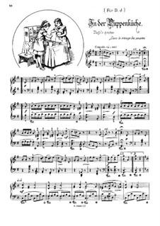 Musikalisches Bilderbuch, Op.41: Dolly's Kitchen (Dans la ménage des poupées) by Alexis Hollaender