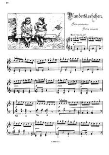 Musikalisches Bilderbuch, Op.41: Little Chatterbox (Petite bavarde) by Alexis Hollaender