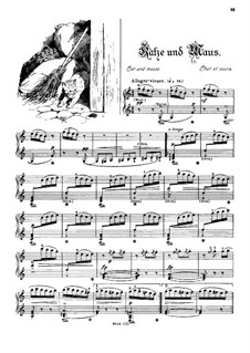 Musikalisches Bilderbuch, Op.41: Cat and Mouse (Chat et souris) by Alexis Hollaender