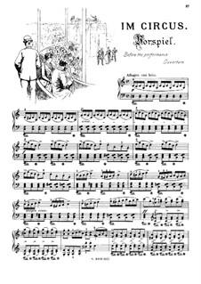 Musikalisches Bilderbuch, Op.41: Im Zirkus. Vorspiel und Hohe Schule by Alexis Hollaender