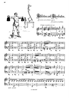 Musikalisches Bilderbuch, Op.41: Acrobates and Athletic Sports (Acrobates et athlètes) by Alexis Hollaender