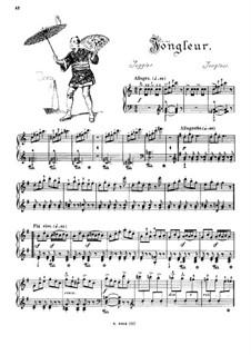 Musikalisches Bilderbuch, Op.41: Juggler (Jongleur) by Alexis Hollaender