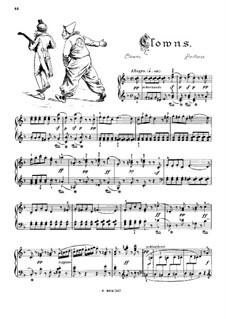 Musikalisches Bilderbuch, Op.41: Clowns (Paillasse) by Alexis Hollaender