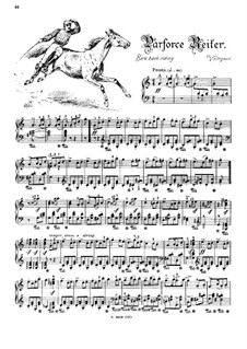 Musikalisches Bilderbuch, Op.41: Bare Back Riding (Voltigeur) by Alexis Hollaender