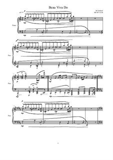 Beau Viva Do for Piano, MVWV 1184: Beau Viva Do for Piano by Maurice Verheul