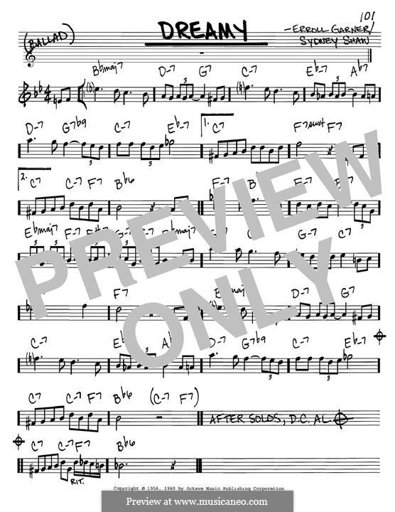 Dreamy: Instrument in B Flat by Erroll Garner, Sydney Shaw