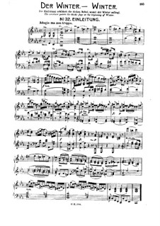 The Seasons, Hob.XXI/3: Movement IV. Winter, No.32-40 by Joseph Haydn