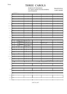 Three Carols for Concert Band: Three Carols for Concert Band by folklore